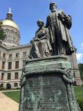 Capitol d'état de la Géorgie Photo libre de droits
