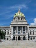 Capitol d'état de la Pennsylvanie à Harrisburg Photographie stock