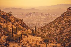 Capitol d'état de Phoenix Arizona photos stock