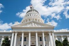 Capitol d'état de Sacramento la Californie Photographie stock libre de droits