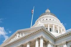 Capitol d'état de Sacramento la Californie Images stock