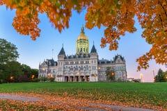 Capitol d'état du Connecticut images libres de droits