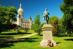 Capitol d'état du Connecticut photo stock