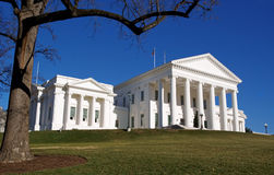 Capitol d'état, Richmond, la Virginie Image stock