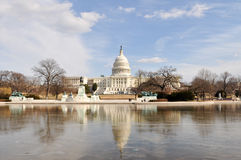 capitol dc stan zlany Washington obrazy stock