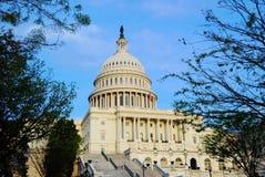 capitol dc wzgórza stan zlany Washington zdjęcia royalty free