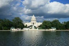 capitol dc wzgórze Washington Zdjęcia Stock