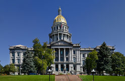 Capitol de Denver le Colorado Photos stock