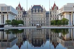 Capitol de l'état de New-York Photos stock