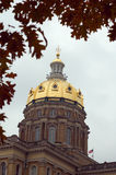Capitol de l'Iowa photographie stock libre de droits