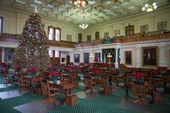 Capitol de Texas State da câmara de Senado foto de stock