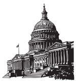 Capitol degli Stati Uniti Fotografia Stock