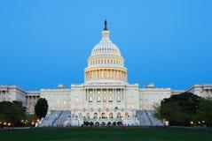 Capitol degli Stati Uniti, Washington DC. Immagine Stock Libera da Diritti