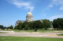 Capitol dello stato di Oklahoma immagini stock libere da diritti