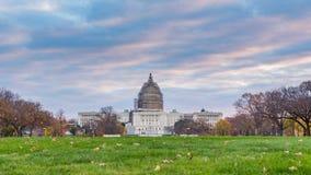 Capitol des USA dans le Washington DC banque de vidéos