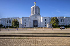 Capitol do estado que constrói Salem Oregon Fotos de Stock