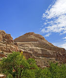 Capitol Dome-Capitol Reef National Park Royalty Free Stock Photos