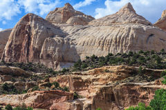 Capitol Dome at Capitol Reef National Park Utah USA Stock Photography
