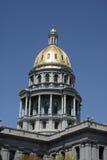Capitol dome Denver, CO. The 24 karat Capitol dome in Denver, Colorado Stock Photo