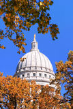 Capitol Dome, Madison, Wisconsin Stock Photography
