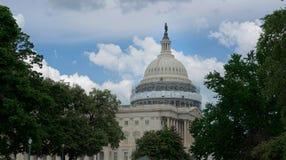 Capitol Dome Restoration, United States Capitol, Washington D.C. Royalty Free Stock Photos