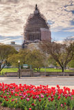 Capitol Dome Scaffolding Washington DC Royalty Free Stock Image