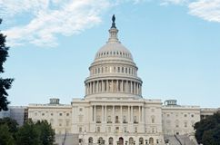 The Capitol Dome, Washington D.C. July 2017. The Capitol Dome in Washington D.C. July Stock Photo