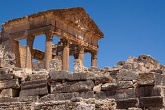 The Capitol of Dougga Stock Photography