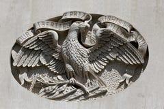 Capitol Eagle Detail d'état d'IA Photos stock