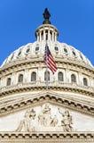 Capitol Flag Royalty Free Stock Photo