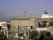 The Capitol and Forum Romanum Stock Photos