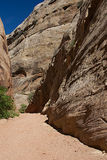 Capitol Gorge A stock images
