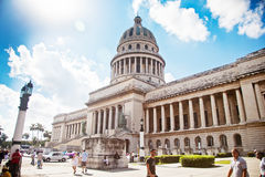 The Capitol in Havana Royalty Free Stock Image