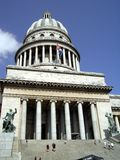 Capitol in Havana. The Capitol in Havana. Historical building in Cuba Royalty Free Stock Photo