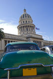 The Capitol of Havana, Cuba. Royalty Free Stock Photos