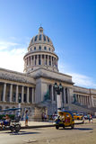 The Capitol of Havana, Cuba. Stock Images