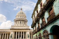 Capitol Havana, Kuba Royaltyfri Bild