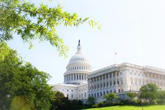 Capitol Hill Arkivfoton
