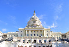 Capitol Hill Building Royalty Free Stock Images
