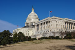 Capitol Hill Building Royalty Free Stock Image