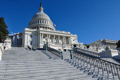 Capitol Hill Building in Washington DC Stock Image