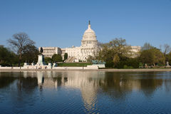 Capitol Hill: Capitólio dos E.U. Fotografia de Stock Royalty Free