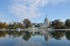 The Capitol Hill Royalty Free Stock Images