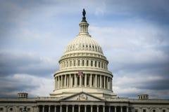 Capitol Hill in de Verenigde Staten stock afbeelding