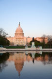 Capitol Hill at sunset Royalty Free Stock Photo
