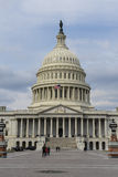 Capitol Hill in the United States. Capitol Hill Building in the United States Royalty Free Stock Photo
