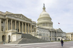 Capitol Hill Washington DC Arkivbilder