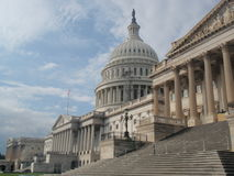 Capitol Hill Washington DC royalty free stock photo