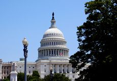 Capitol Hill, Washington DC, de V.S. Stock Foto