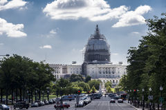 Capitol hill Stock Photography